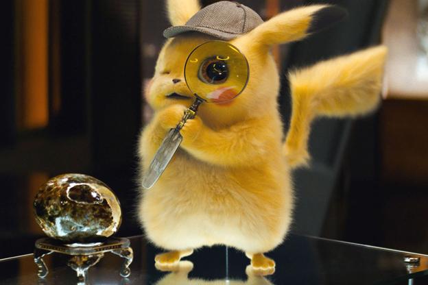Detective Pikachu demon rat
