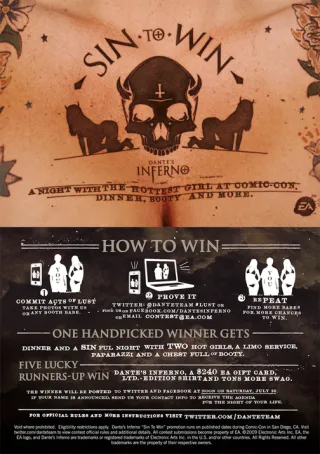 Inferno Sin to Win