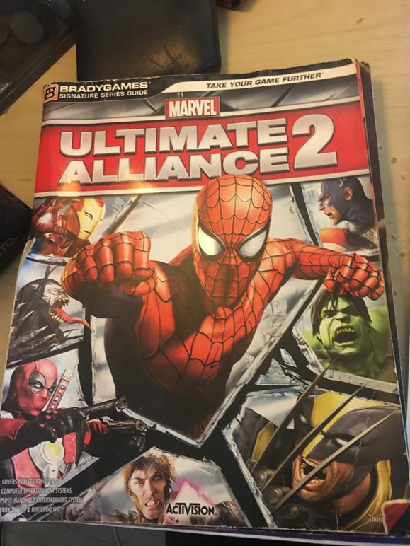Marvel Ultimate Alliance book