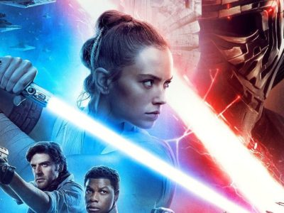 The Rise of Skywalker cover