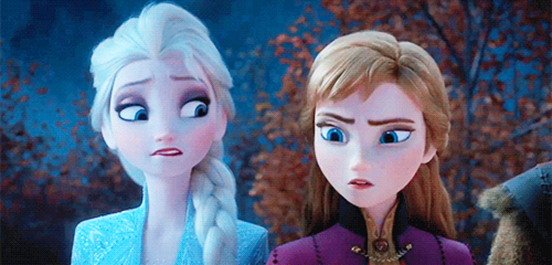 Frozen II reaction