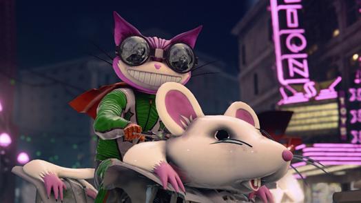 Saints Row: The Third cat