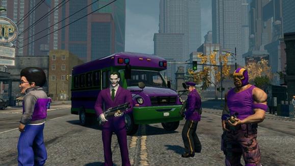 Saints Row: The Third joker