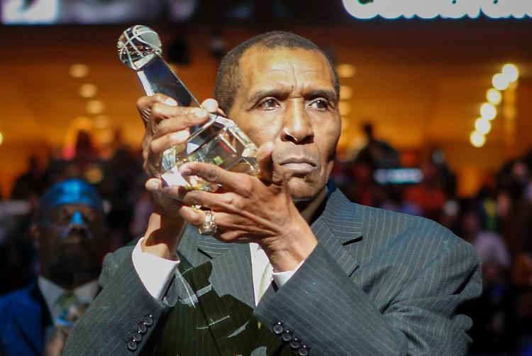 Jo Jo White received the National Civil Rights Sports Legacy Award in 2014.