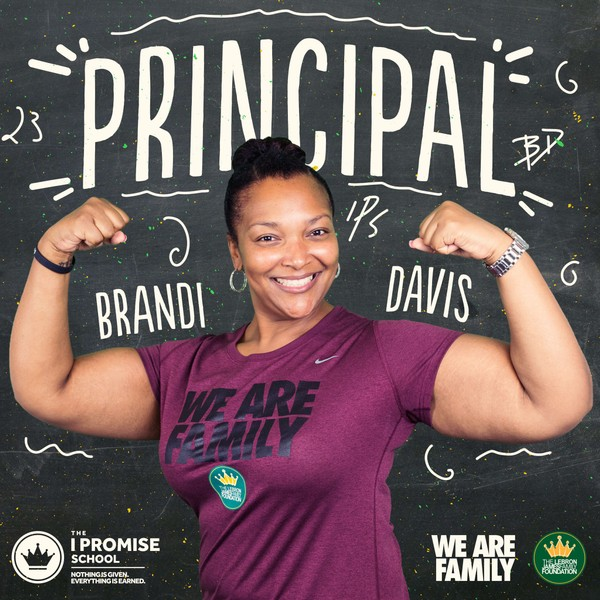 Photo Credit Cleveland.com The newly named principal of the new I PROMISE School, Brandi Davis