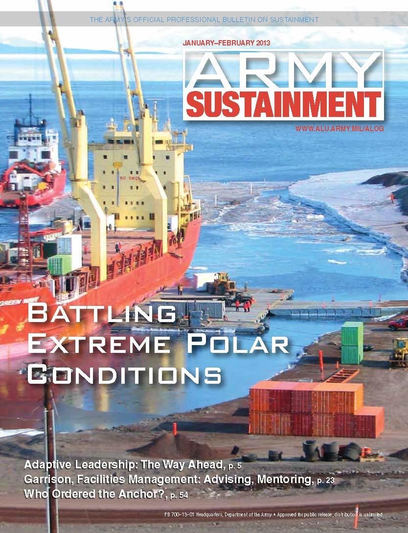 Jan_Feb_2013 Army Sustainment Magazine