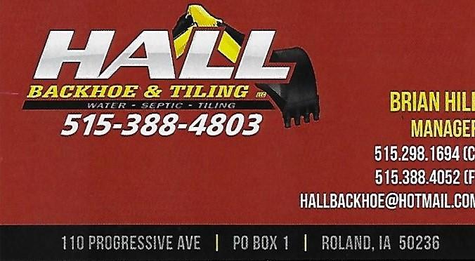 Hall Backhoe & Tilling