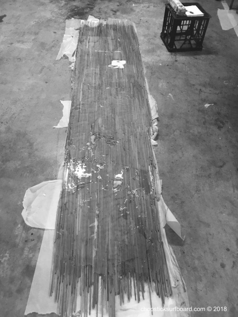Chopstick Surfboard
