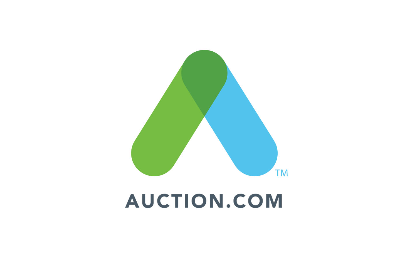 Auction.com new corporate identity by Blue C creative marketing agency