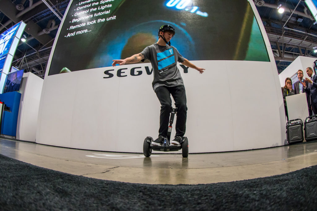 Monster Energy's Adam Kun for Ninebot by Segway