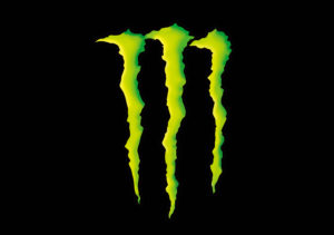 Monster Energy Claw that is iconic brand logo