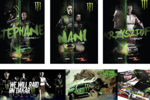 Monster Energy and MINI Dakar Rally campaign in South America