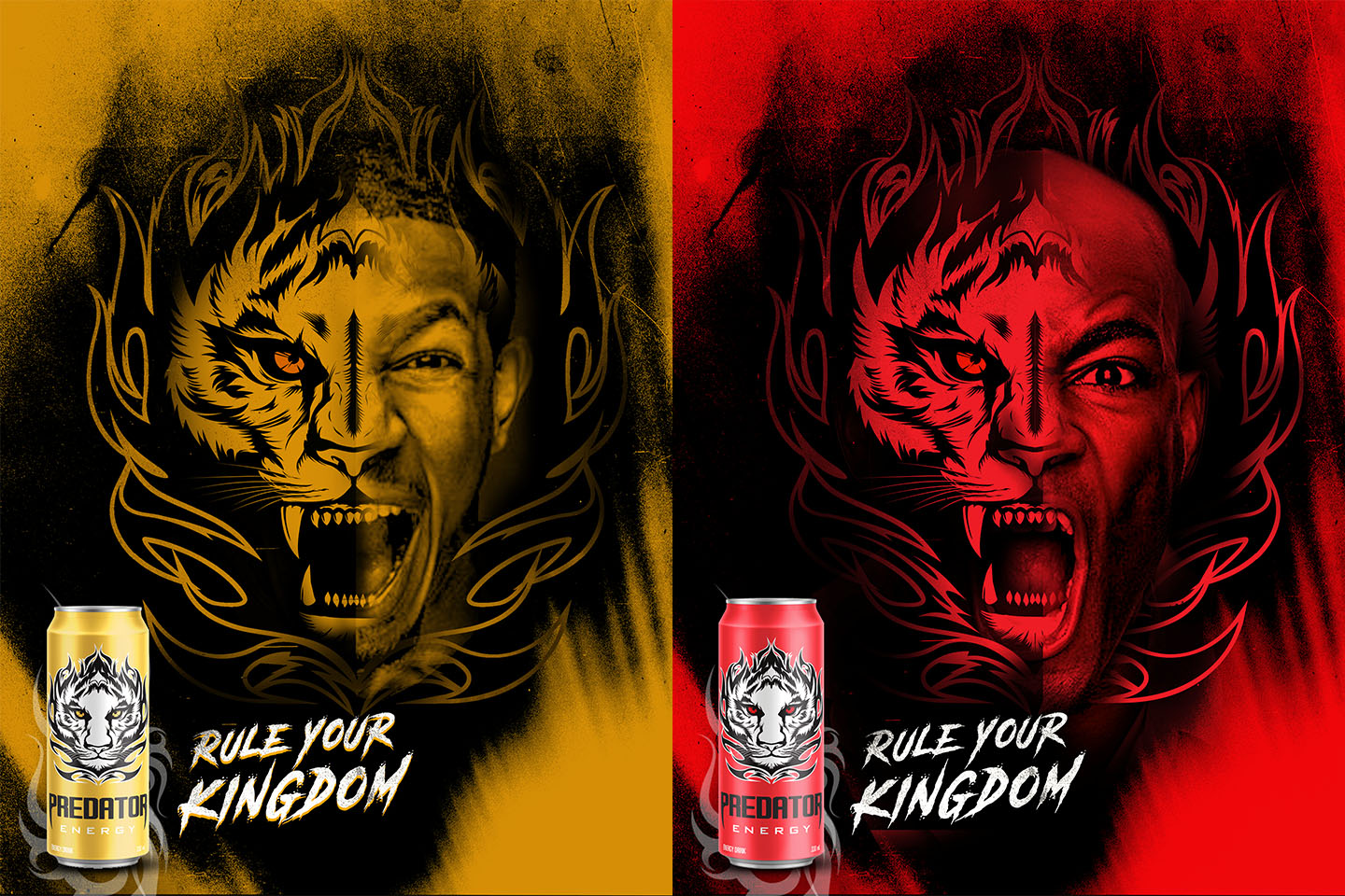 Predator Energy Drink campaign big idea for brand launch