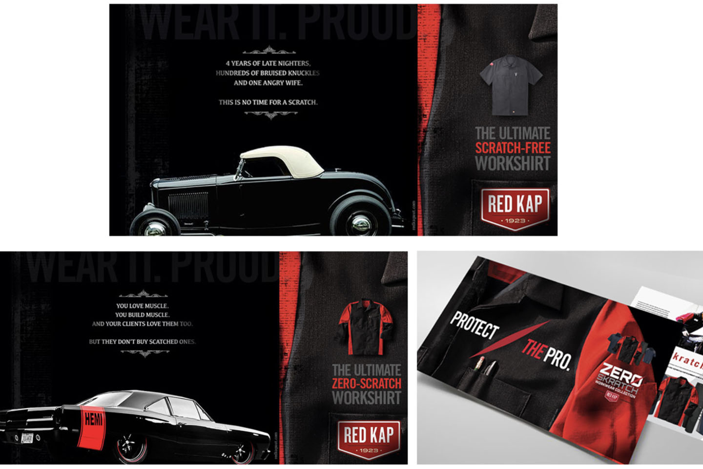 Red Kap zero scratch brand campaign to promote workwear shirt launch