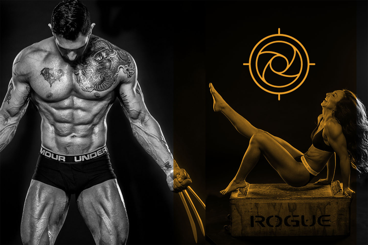 Naked photos for Stark personal fitness campaign in Orange County