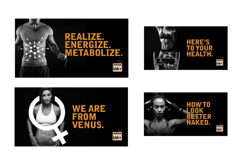 Irvine and Newport Beach digital ads to promote Stark Naked radio