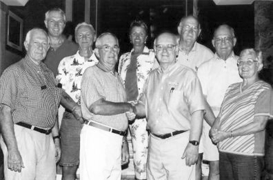 Third TVCUC President and Board Historic BW