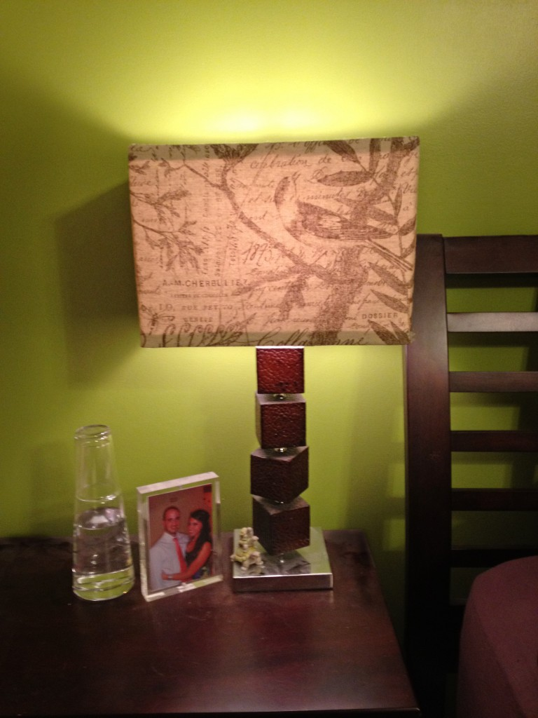 U-Fabricate – Easy Lampshade Makeover