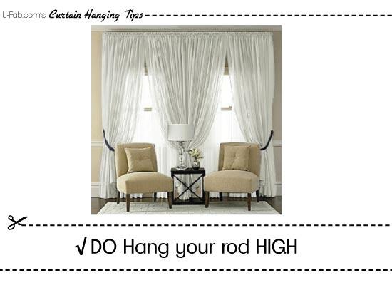 FAQ – How to hang window treatments?