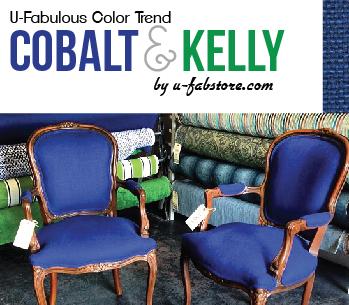 U-Fabulous Color Trend: Kelly Green & Cobalt Blue
