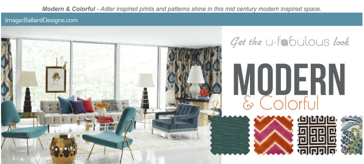 Ufabulous Design Room: Modern & Colorful