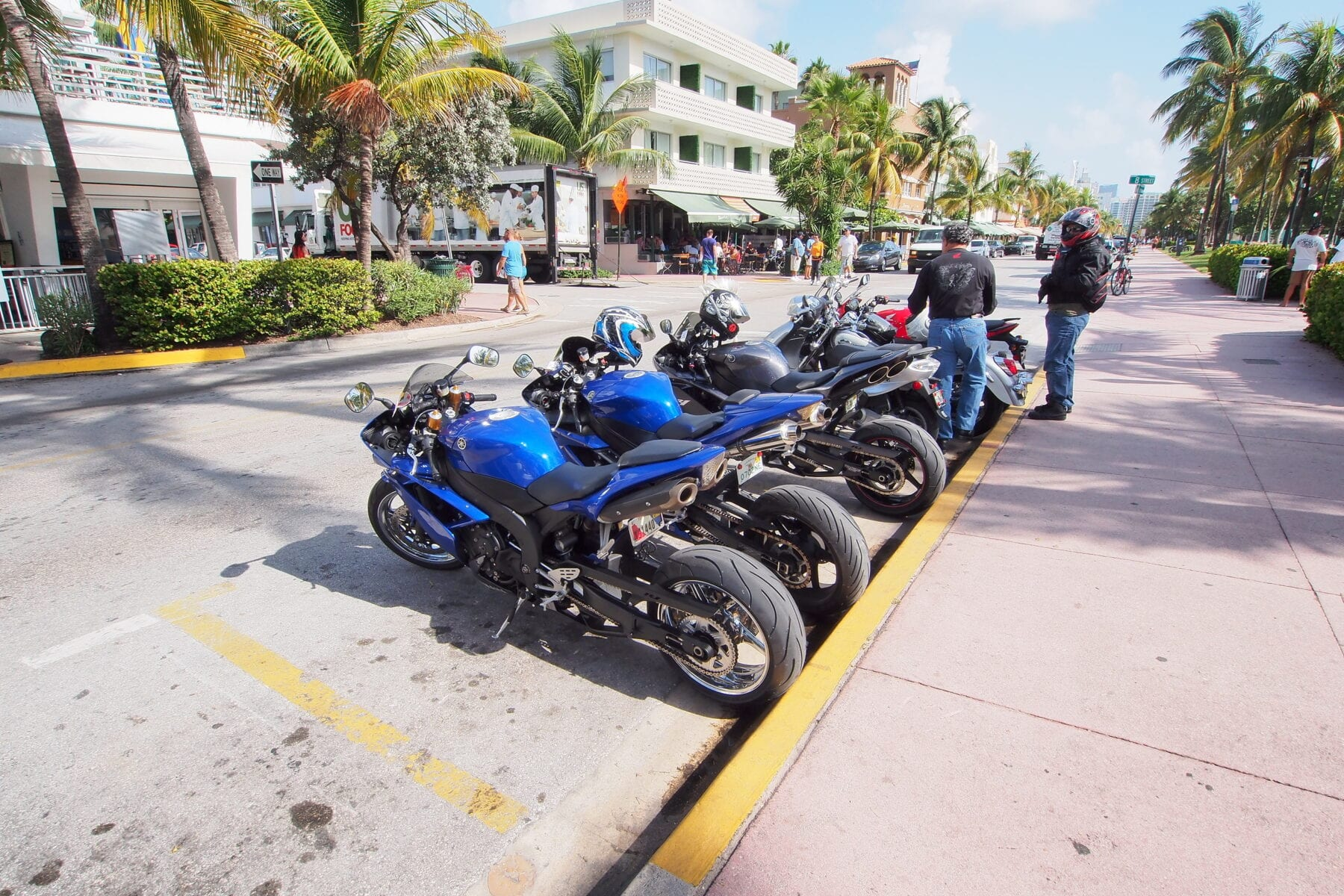 Many people find riding motorcycles in Florida a great experience. ©BigStockPhoto