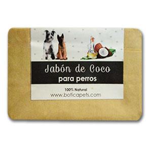 jabon de coco natural para perro