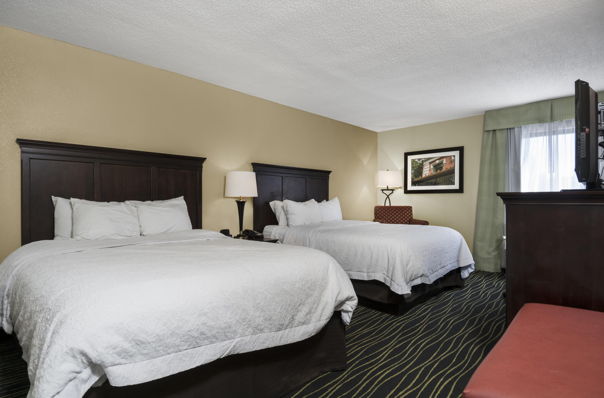 Hampton Inn Columbia/Harbison Blvd. 2 Queen Room