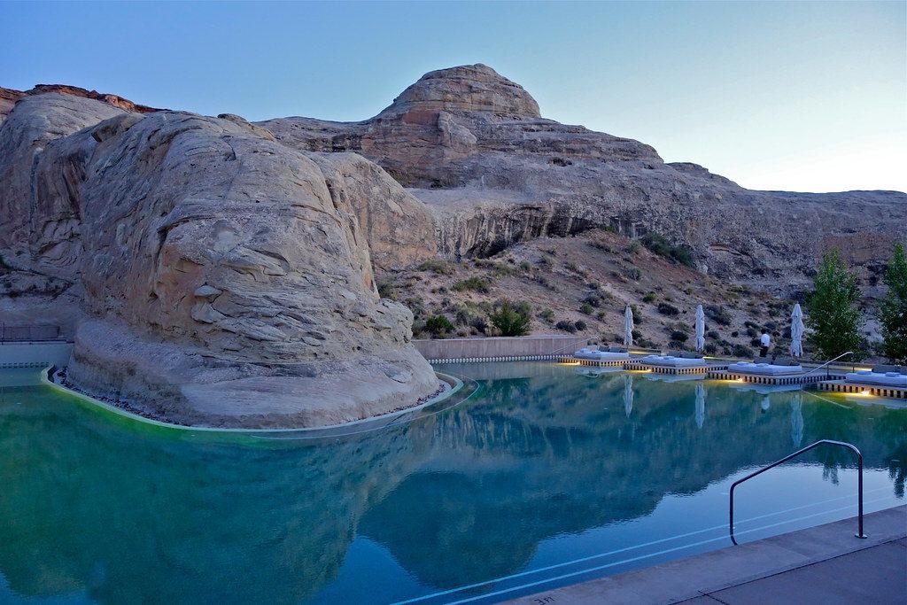 Swimming Pool at Amangiri, Utah