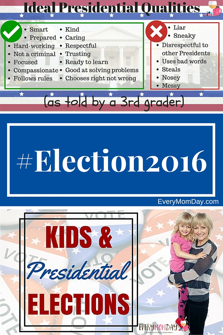 Kids and the 2016 Presidential Elections - EveryMomDay.com