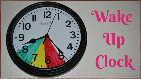 Get the sleep you need with this easy to understand kid's wake up clock! EveryMomDay.com
