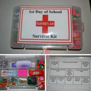 This Teachers Survival Kit was a huge hit! EveryMomDay.com