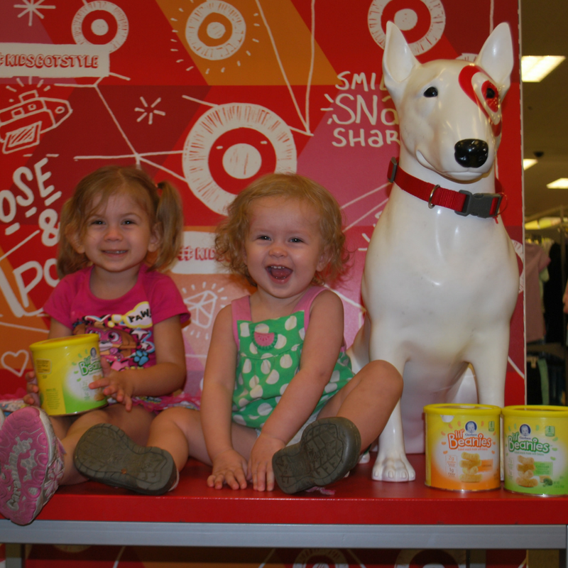 Shopping at Target is even more fun when you find new snacks like Gerber Lil' Beanies! EveryMomDay.com