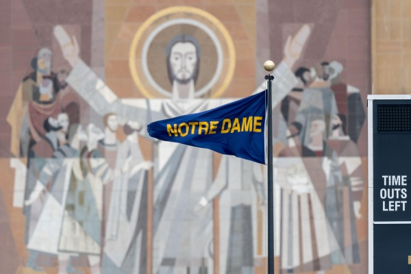 Touchdown Jesus - Notre Dame University