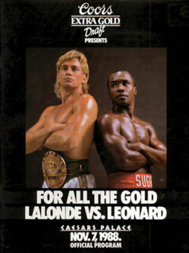 Donny Lalonde vs Sugar Ray Leonard