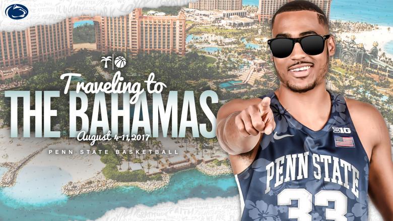 Penn State basketball heading to the Bahamas