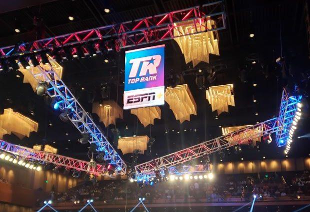 Boxing Ring at MGM National Harbor