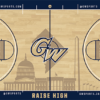 George Washington Basketball court