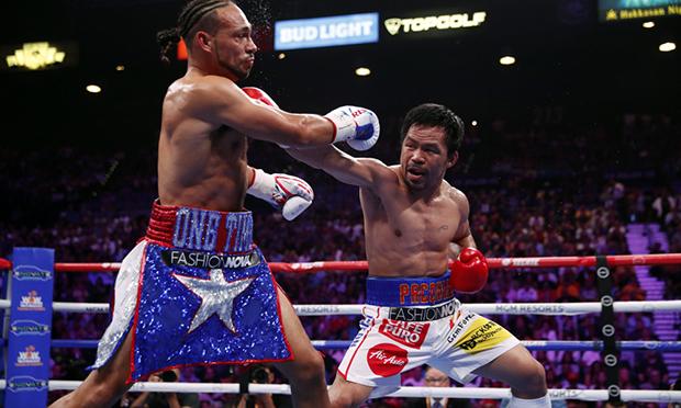 Pacquiao punches Thurman