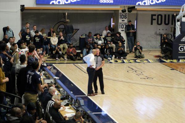 GW Head Coach Jamion Christian