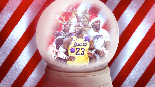 NBA Preview Christmas Day Graphic