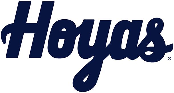 Georgetown Hoyas cursive logo