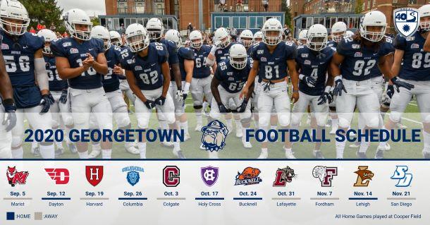 Georgetown football schedule