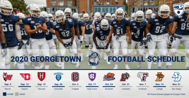 Georgetown football schedule