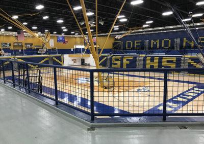 Santa Fe Steel - Gym Rails 5