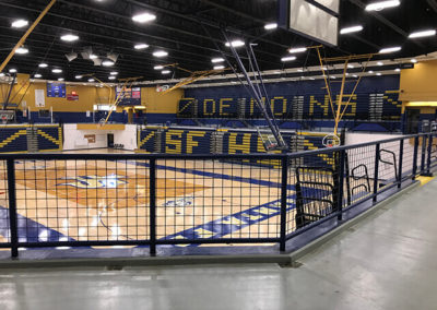 Santa Fe High School Gym Rails