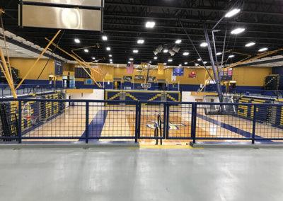 Santa Fe Steel - Gym Rails 3