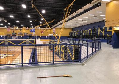 Santa Fe Steel - Gym Rails 2