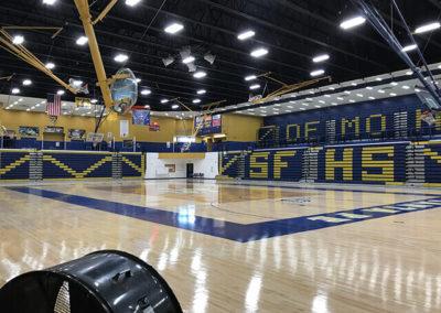 Santa Fe Steel - Gym Rails 1