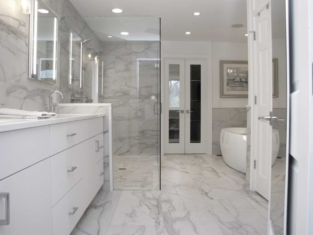 Glendale, OH bathroom remodeling project